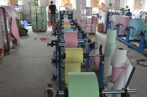 湘印纸业-七联打印纸生产设备